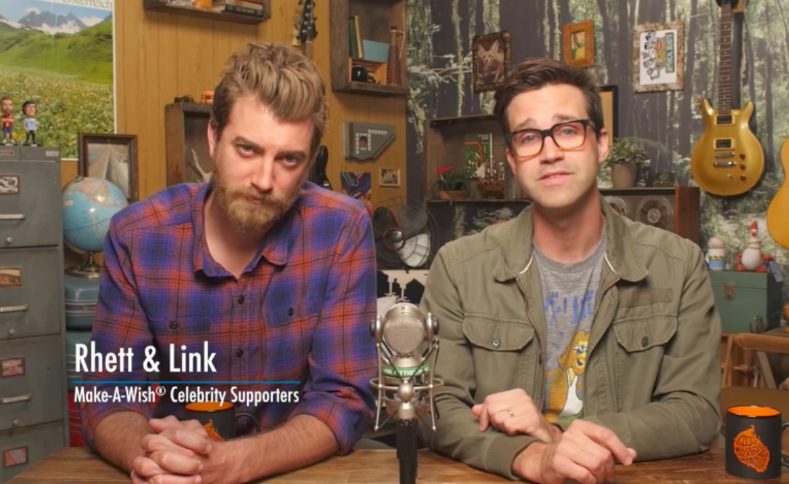 YouTube Stars Rhett & Link To Receive Celebrity Award From Make-A-Wish Foundation