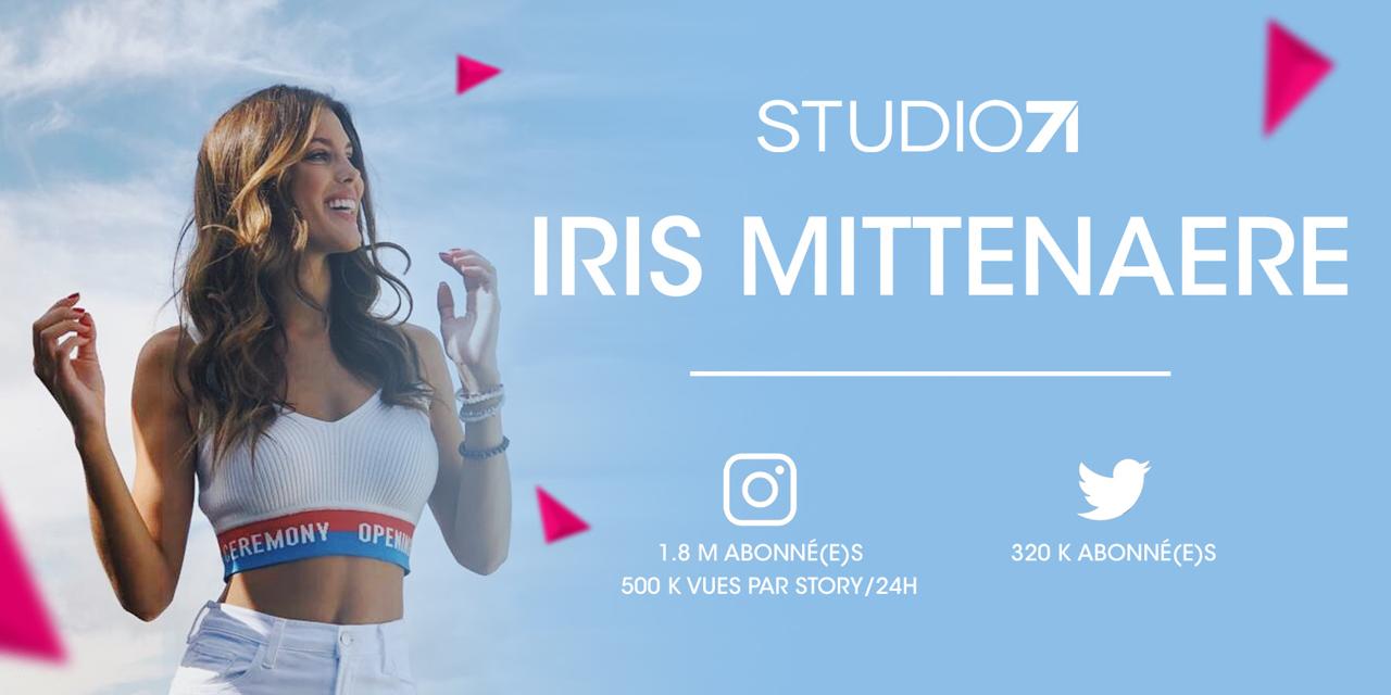 Iris Mittenaere rejoint Studio71