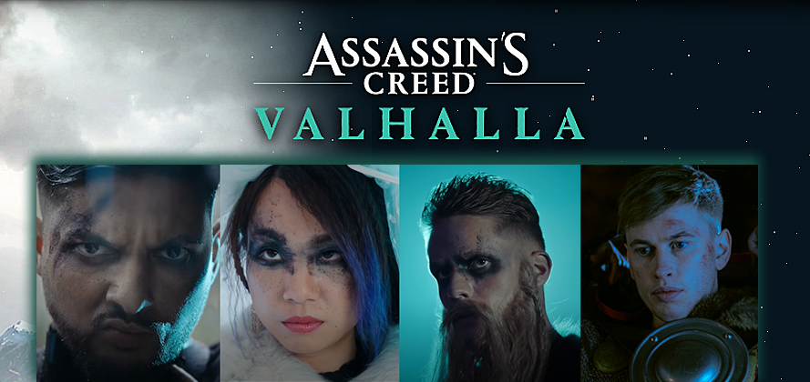 Assassin's Creed® Valhalla: Crossmedia-Kampagne von Studio71 mit YouTube-Stars