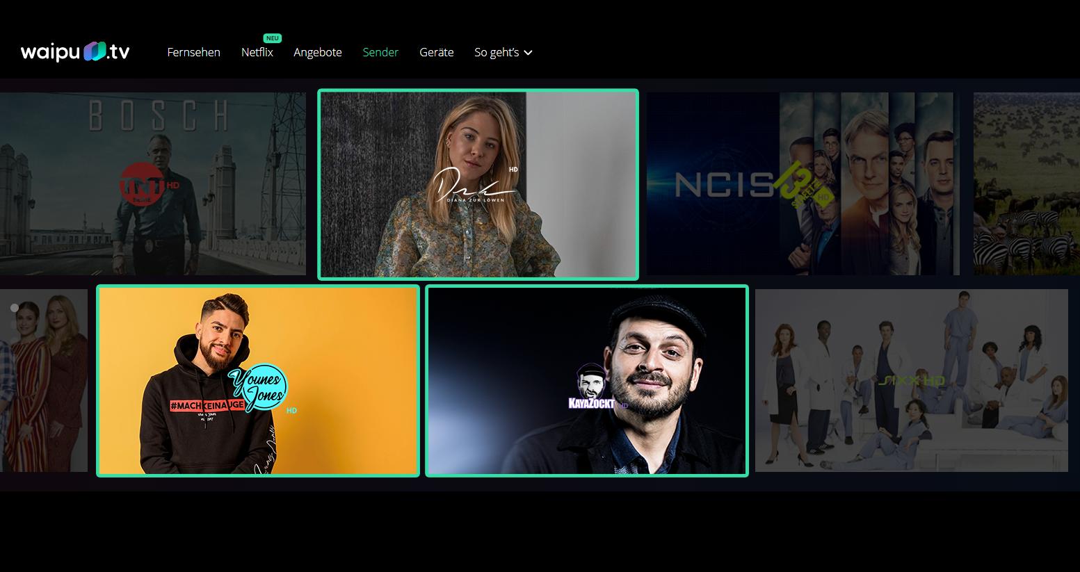 Studio71 erweitert das Programmportfolio von waipu.tv um drei neue Kanäle