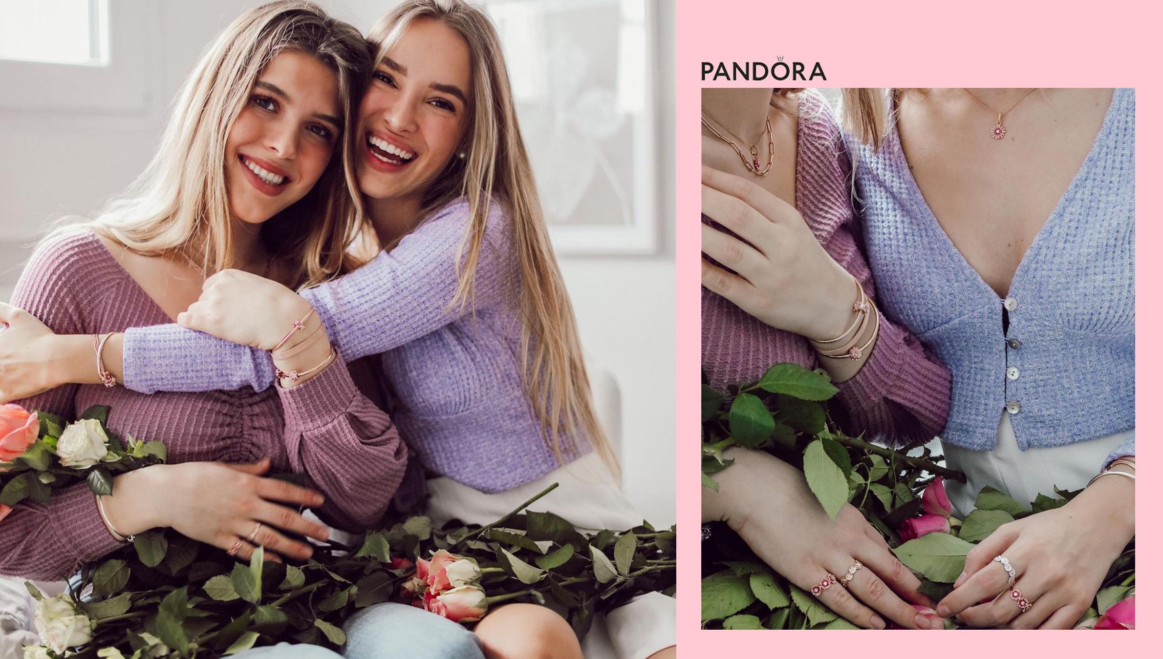 Hannah Antonia startet als Pandora Face 2021 in den Frühling