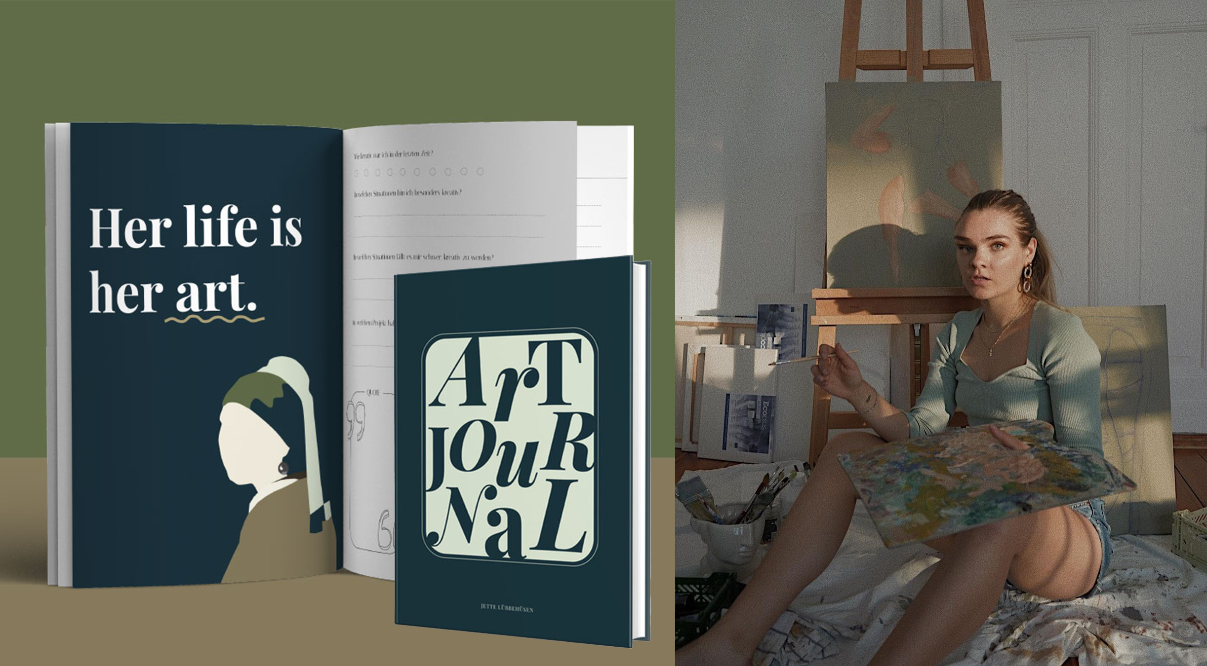 Buch Launch: I'mJettes Art Journal
